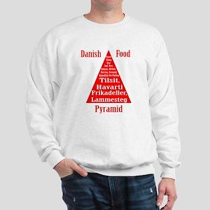 Danish Food Pyramid Sweatshirt