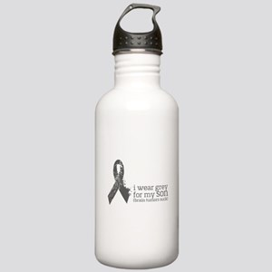 I Wear Grey For My Son Stainless Water Bottle 1.0l