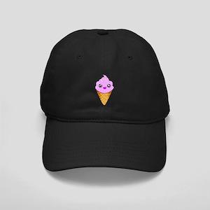 Strawberry Kawaii Ice Cream Cone Baseball Hat