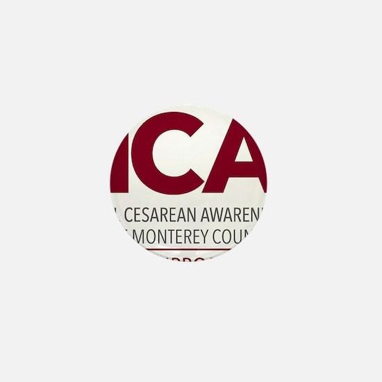 ICAN of Monterey County Logo Mini Button