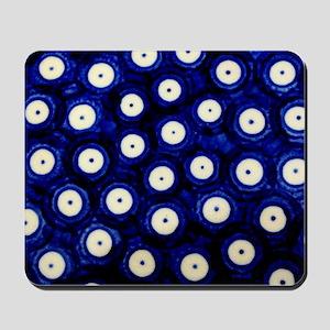 Polish Pottery Polka Dots Mousepad