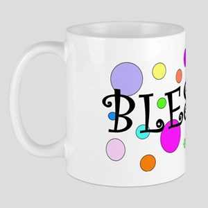 Happy and Blessed Mug