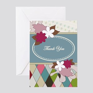 Thank You Scrapbook Page Greeting Cards