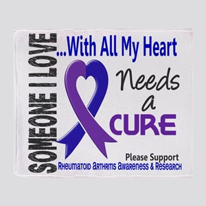 RA Needs a Cure 3 Throw Blanket
