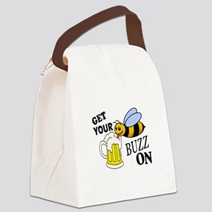Get Your Buzz On Canvas Lunch Bag