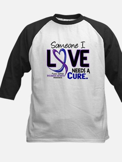 RA Needs a Cure 2 Kids Baseball Jersey