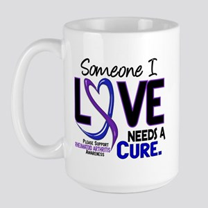 RA Needs a Cure 2 Large Mug