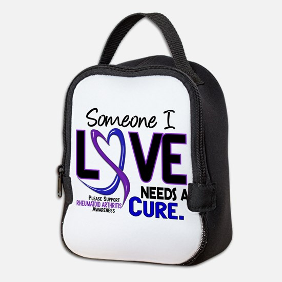 RA Needs a Cure 2 Neoprene Lunch Bag