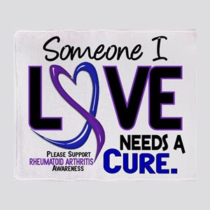 RA Needs a Cure 2 Throw Blanket