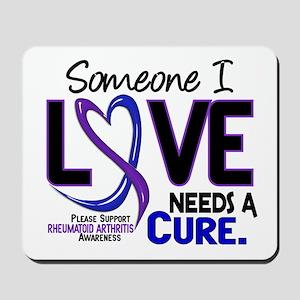 RA Needs a Cure 2 Mousepad