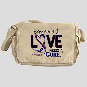 RA Needs a Cure 2 Messenger Bag