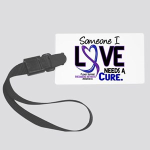 RA Needs a Cure 2 Large Luggage Tag