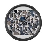 Asteroids Large Wall Clock