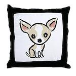 Color Logo Throw Pillow