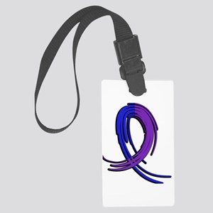 RA Graffiti Ribbon 2 Large Luggage Tag
