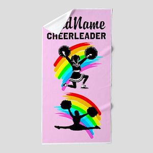 #1 Cheerleader Beach Towel