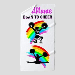 Best Cheerleader Beach Towel