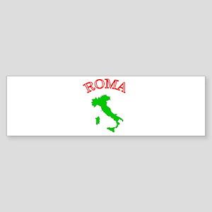 Roma, Italia Bumper Sticker
