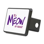 Its meow or never Rectangular Hitch Cover
