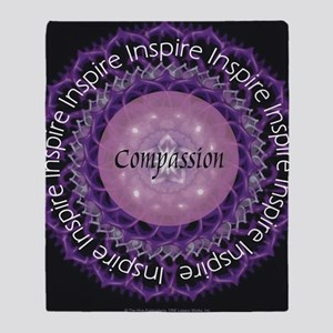 Inspire Compassion Throw Blanket