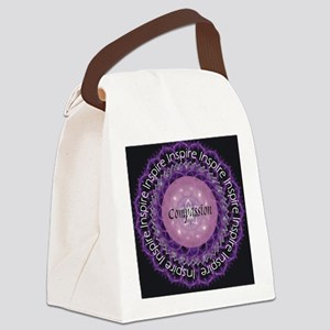Inspire Compassion Canvas Lunch Bag