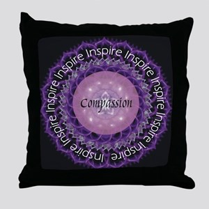 Inspire Compassion Throw Pillow