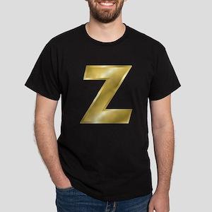 Gold Letter Z T-Shirt