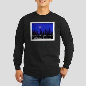 MOONDANCE Long Sleeve Dark T-Shirt
