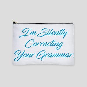 Silently Correcting Grammar Makeup Pouch