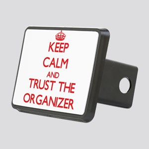 Keep Calm and Trust the Organizer Hitch Cover