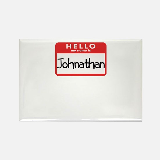 Hello Johnathan Rectangle Magnet