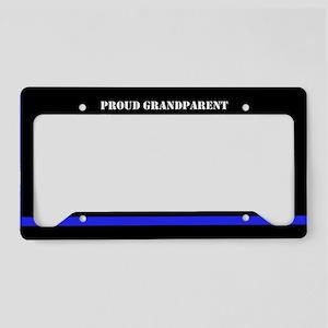 Police Thin Blue Line License Plate Holder