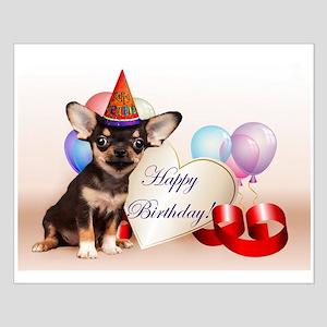 Happy Birthday Chihuahua dog Posters