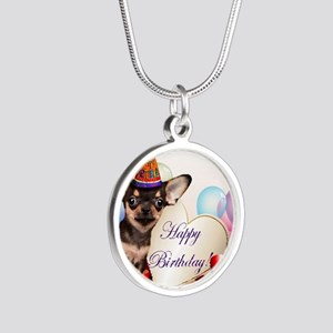 Happy Birthday Chihuahua dog Necklaces
