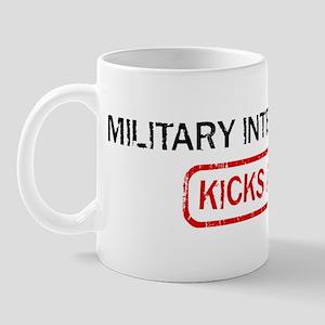 MILITARY INTELLIGENCE kicks a Mug