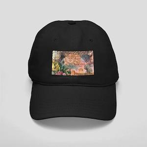 St. Augustine Florida Vintage Collage Baseball Hat