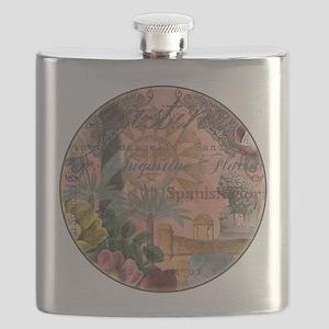 St. Augustine Florida Vintage Collage Flask