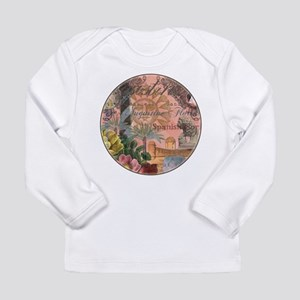 St. Augustine Florida Vintage Collage Long Sleeve