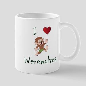 I love werewolves Mug