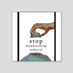 stop mountaintop removal Sticker