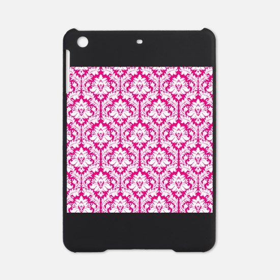 Hot Pink Damask iPad Mini Case