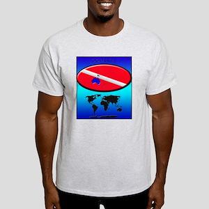 Oceania Dive Flag Light T-Shirt