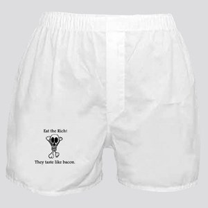 Eat the Rich Boxer Shorts