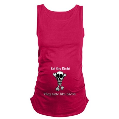 Eat The Rich Maternity Tank Top