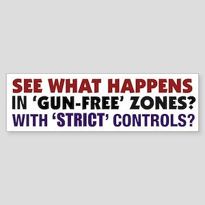 Debunking Gun Control B.S. (Bumper Sticker)