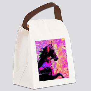 Hackney In Harness Canvas Lunch Bag