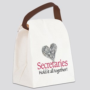 Secretaries Canvas Lunch Bag