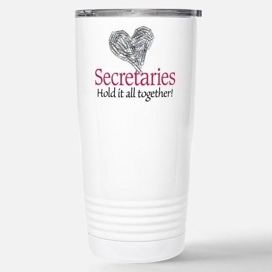 Secretaries Stainless Steel Travel Mug