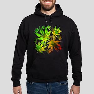 Marijuana Cannabis Leaves Pattern Hoodie