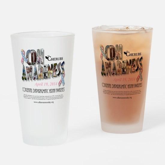 2014 CDH Awareness Day Drinking Glass